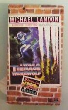 michael landon  I WAS A TEENAGE WEREWOLF whit bissell  VHS VIDEOTAPE