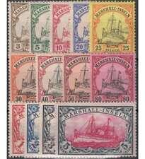 Marshall-Inseln Nr. 13-25 ungestempelt / gestempelt