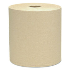 "Kimberly-Clark Hard Roll Towels, 1.5"" Core, 8 X 800ft, Natural, 12 Rolls/carton"