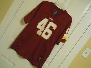Young Mens WASHINGTON REDSKINS Football Jersey 46 Alfred Morris Youth XL (18/20)
