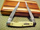 Camillus USA Yellow Jacket Muskrat Two Blade Folding Knife 714