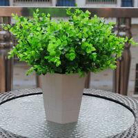 7-Branches Artificial Fake Plastic Eucalyptus Plant Flower Home Office De