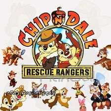 Chip'n'Dale Disney Chipmunks Wall decals Removable stickers kids nursery decor