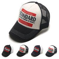 Unisex Mens Standard Steel Workers Airy Mesh Baseball Cap Snapback Trucker Hats