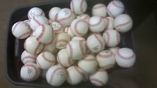 50 DOZEN closeout cosmetic blem ALL LEATHER GAME BASEBALLS PRICED TO SELL FAST!