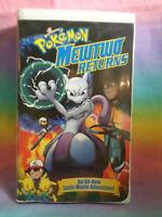 Pokemon: 2001 Nintendo W/B Mewtwo Returns VHS Clamshell Packaging