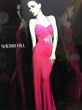 Sherri Hill Size 00 Prom dress gown Pink 11041 $550
