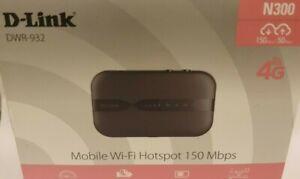 1 X D-Link 4G LTE Mobiler Hotspot (DWR-932)