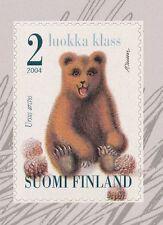 Finland 2004 MNH - Brown Bear Cub - Ursus arctos - Fauna - Issued March 1, 2004