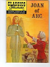 Classics Illustrated #78 HRN 166 VF+ Stiff Cover 1969,  Kiefer, Joan of Arc