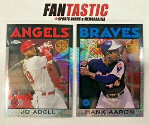 2021 Topps Series 1 & 2 1986 Silver Pack Chrome Refractor YOU PICK -  RC - S1 S2