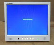 """American Dynamics admnlcd 20w 20"""" LCD monitor a schermo piatto (bianco) per TV a Circuito Chiuso BNC"""