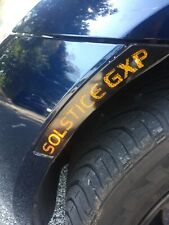 Saturn Sky/Pontiac Solstice/Opel GT Custom Black-Out Vinyl Decal Kit