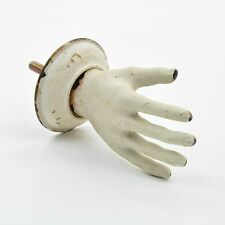 Vintage Hand Door Knob White Opening Hand Handle, Retro Finger Knob, Cool Hand W