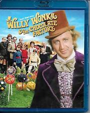 Willy Wonka and the Chocolate Factory blu-ray Gene Wilder