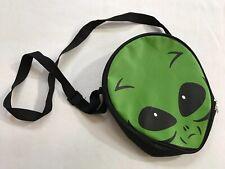Alien Head Purse Lunch Bag Kids School Cross Body Bag Ufo Et Green Insulated
