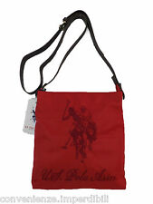 US Polo ASSN borsa a tracolla New Alabama di colore rosso Small crossbody Red