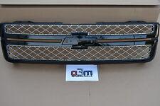 2012-2013 Chevrolet Silverado Black Front Grille w/o Emblem new OEM 22842235