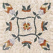 Rosoni rosone mosaico in marmo su rete per interni esterni 66x66 MAJORCA 66.39