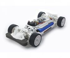 ORIGINAL TAMIYA TT-02 WHITE 1:10 RC CAR BAUKASTEN INKL. SERIENTUNING # 300047364