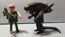 playmobil alien space cine teniente ripley halloween custom