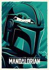 "The Mandalorian 11"" X 17"" Collector's Poster Print DISNEY Star Wars Pedro Pascal"