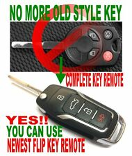GT SWITCHBLADE KEY FOR 2013~18 FORD Escape 120BIT CHIP ALARM CLICKER REMOTE FOB