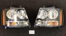 2007-2014 Chevrolet Avalanche Tahoe Suburban OEM Front Left & Right Headlights