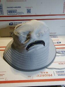 New Era NFL LA Chargers Training Bucket Hat Adult Size Medium/Large NWT