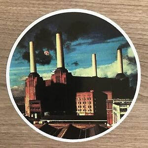 """Pink Floyd Animals 4"""" Wide Vinyl Sticker - BOGO"""
