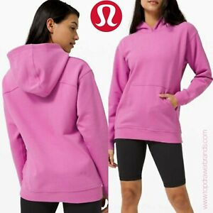 LULULEMON UK 10 M US 6 All Yours Hoodie Magenta Glow Pink Oversized