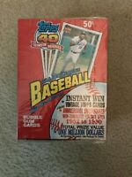 Factory Sealed 1991 Topps Baseball Wax Box