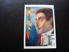 France - card 1st day 23/2/1974 (st-louis-marie-grignon montfort) (B15)