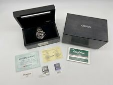 EXTREMELY RARE~CITIZEN ATTESA Jet Setters 20th Anniv,Eco Drive Ltd Ed:ATV53-2834