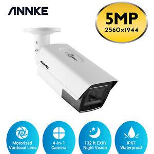 ANNKE 5MP Super HD CCTV Camera 5X Optical Zoom 32 ft EXIR Night Vision IP67 UK