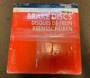 UNIPART GBD456 FRONT BRAKE DISC 238mm RENAULT CLIO MK2 1998-2005 KANGOO MEGANE