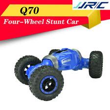 JJRC Q70 TWIST 2.4G 1:16 Double Side Four-Wheel Stunt RC Car Kid Buggy Toys Blue
