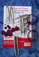 Knit Pro Metall Chunky Nadel-Set 10603