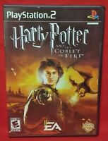 Harry Potter Goblet of Fire -  PS2 Playstation 2 COMPLETE Game 1 Owner Mint Disc