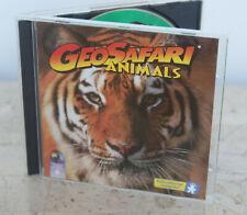Educational Insights * Geosafari Animals * Cd-Rom Game ~ Windows ~ Macintosh