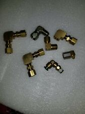 New listing Various Lot Of 7 90 Degree Elbow Fittings,