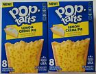 NEW Pop Tarts Toaster Pastries Lemon Creme Pie Flavor 16 Count FREE SHIPPING