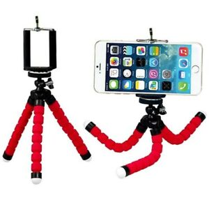 Flexible Sponge Octopus Tripod For IPhone bendable Mobile Phone Smartphone