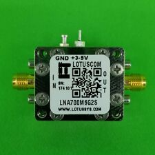 Broadband Low Noise Amplifier 0.4dB NF 0.7~6GHz 40dB Gain 20dBm P1dB - 2 Stage