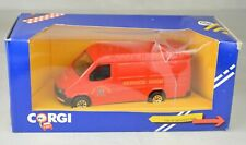 "Corgi #C656/18 Ford Transit Fire Service Van 5"" Long England 1986 Mint With Box"