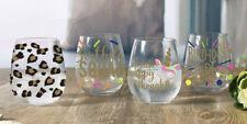 Set of 12 CELEBRATE Stemless Wine Glass, 17.5 Oz, Glassware
