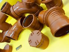 110 mm Underground Drainage raccords, coudes, bouteille Gullys, regard Chambers