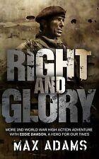 New, Right and Glory (Eddie Dawson), Max Adams, Book