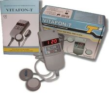 Vibro acousti infrared therapy Medical VITAFON-T brand new ENGLISH Manual 220V