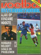 V.I. 1993  nr. 36 - HADJUK SPLIT/ROMARIO/AJAX-PSV/WINFRIED SCHÄFER/VAN GALEN